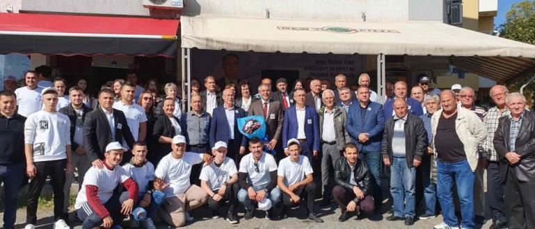 Екипът на Централния лъч на ДПС присъства на предизборна среща