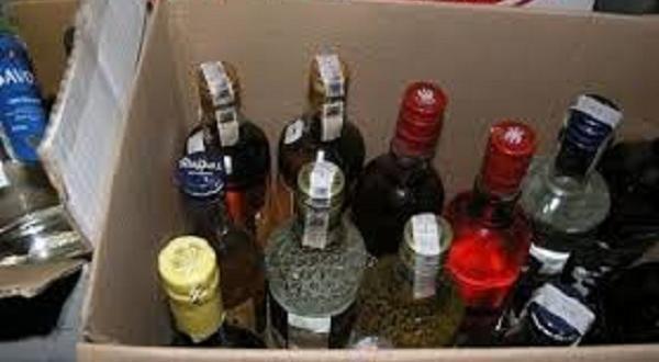 Снимка: 17 600 лзадържан на митница алкохол отиват на търг