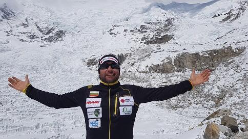 Българският алпинист Атанас Скатов, който вчера изкачи третия по височина