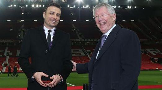 Манчестър Юнайтед приветства срещата между Димитър Бербатов и бившия мениджър