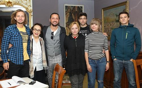"Екипът на ""Облог"": Ненчо Костов, Мария Стефанова, Стефан Спасов, Вяра"