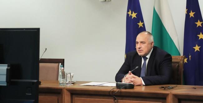 Започна участието на премиера Бойко Борисов във видеоконференцията на членовете