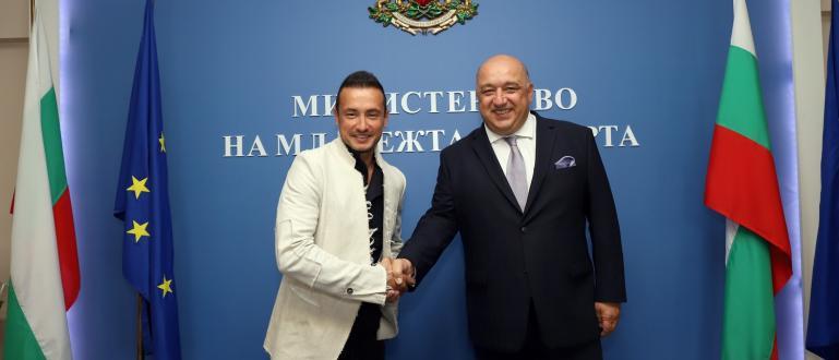 Снимка: Министър Кралев се срещна с Мартин Чой