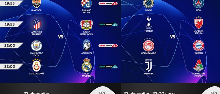 УЕФА Шампионска лига се завръща този вторник в ефира на