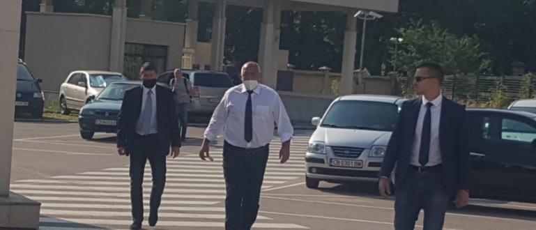 Премиерът Борисов пристигна на разпит в Специализираната прокуратура. Премиерът е