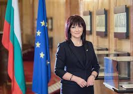 Председателят на 44-ото Народно събрание Цвета Караянчевапокани европейските институции да